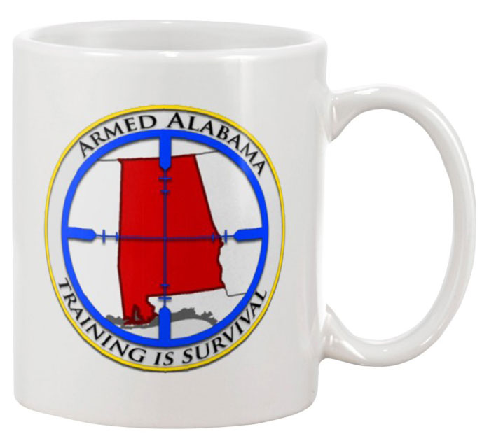 Armed Alabama Coffee Mug