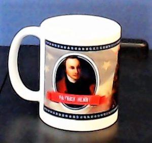 PATRICK HENRY COFFEE MUG